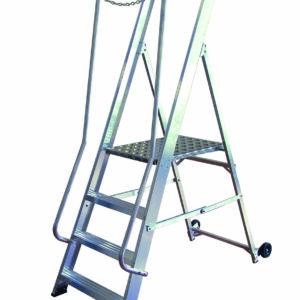 Aluminium Wide Steps - 8 Tread