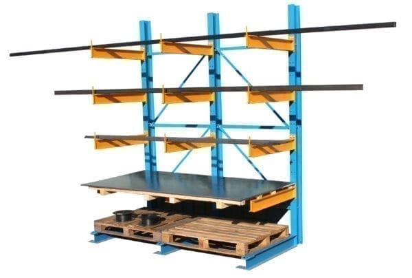 Cantilever Racking - Extension Bay - 4X1000Mm Arms - 1 Upright