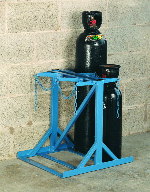 Low Height Double Sided Floor Stand - 6 Cylinder