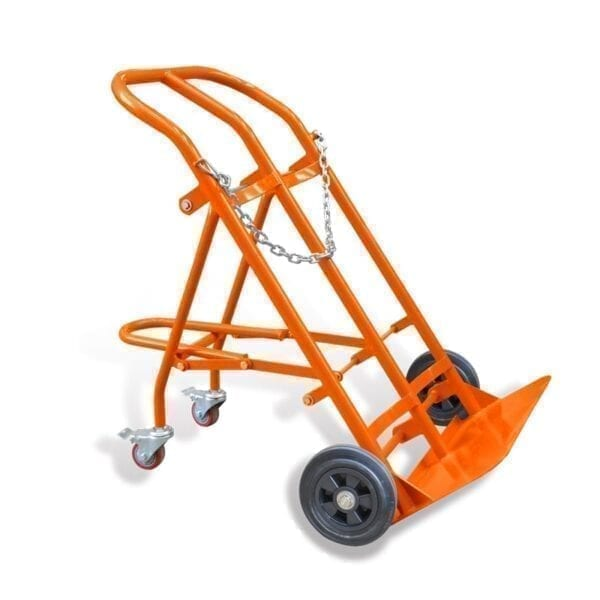 Cylinder Trolley - holds 2 x 140 Cylinder
