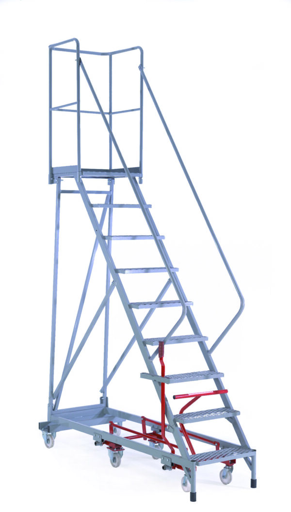 Fort® Easy Steer Mobile Step - 12 STEP - Std Slope