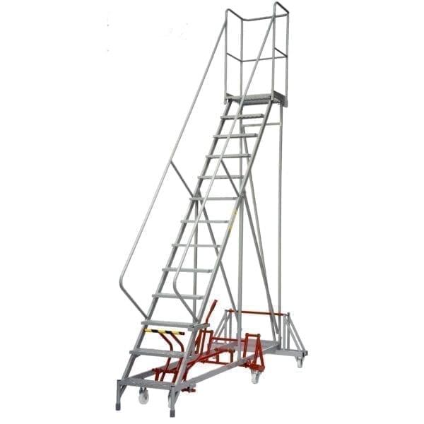 Fort® Easy Steer Mobile Step - 18 STEP - Std Slope