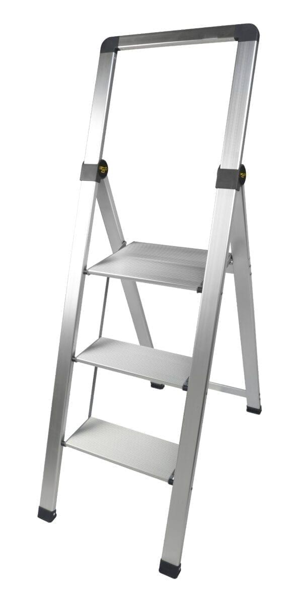 Climb-It Slim Folding Steps - 3 tread