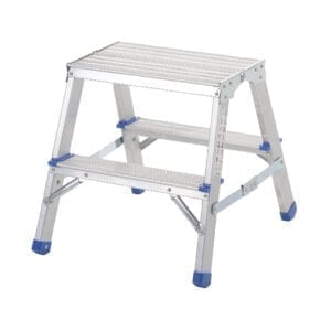 Folding Aluminium Handy Steps - 2 Treads