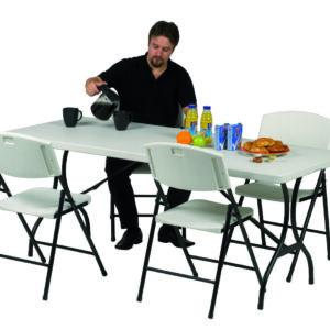 Folding Tables - Folding tables with folding legs - 1830Lmm