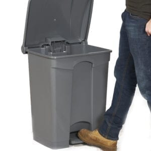 Pedal Bin - 68 Litre  - Available in Dark Grey or Yellow