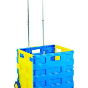 Folding Box Truck - Blue/Yellow - 25Kg