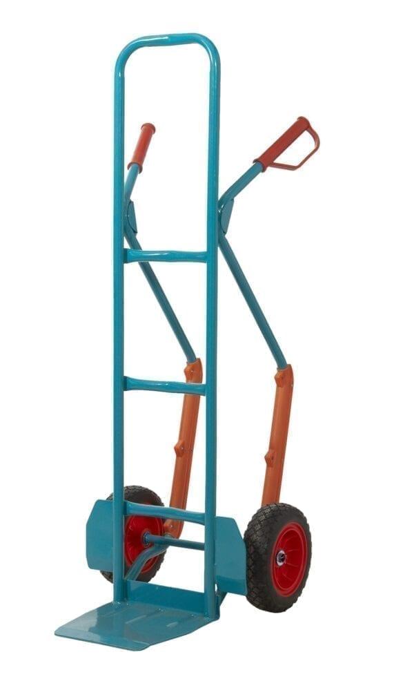 Apollo Steel Sack Truck - Reach Compliant Wheels - +Skids