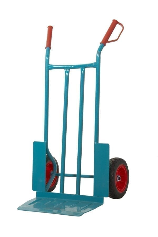 Apollo Steel Sack Truck - Reach Compliant Wheels - +Wheel Guards