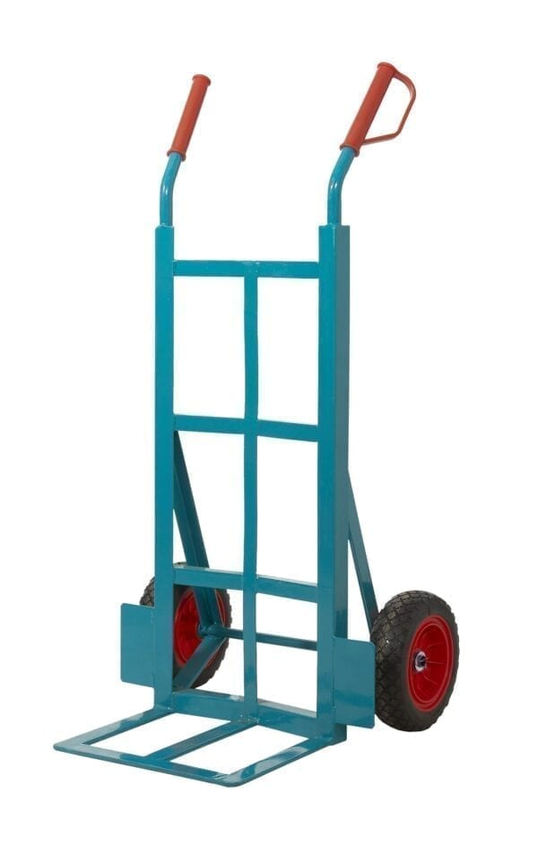 Apollo Steel Sack Truck - Reach Compliant Wheels - Angle Iron