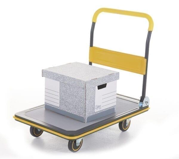 Deluxe Folding Trolley - 300kg Load Capacity