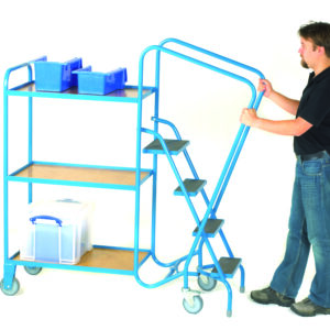 GS Approved Order Picking Trolley - 4 Steps