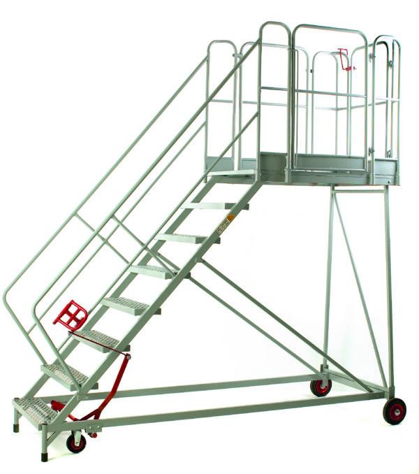 Fort® Easy Slope Platform - 8 Step - Certified to BS EN 131 Professional