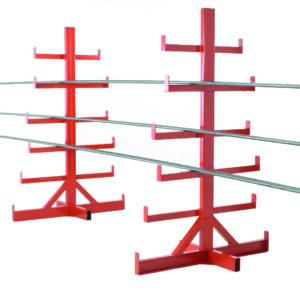 Bar Storage Rack - Double