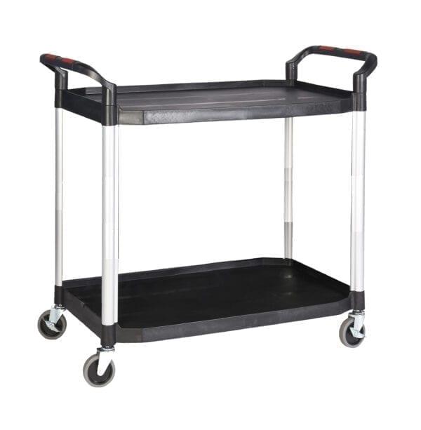 Proplaz®' Shelf Trolley - 2 Shelf 990L