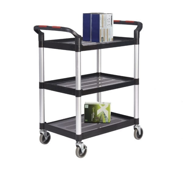 Proplaz®' Shelf Trolley - 3 Shelf 750L