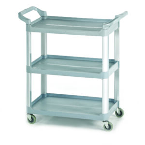 3 Shelf Small Trolley - Grey