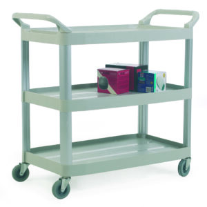 3 Shelf Trolley - Grey