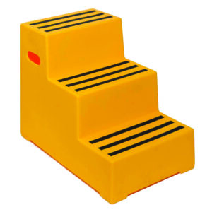 Plastic Handy Steps - 3 Treads