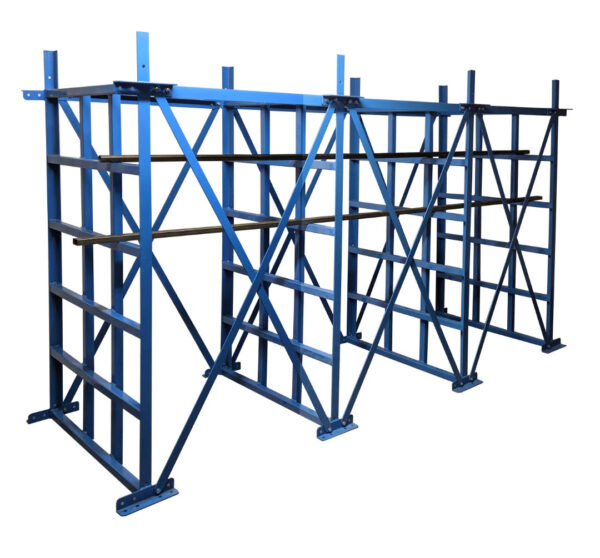 Heavy Duty CUBI - Rack  - 8 Columns with Spacers & Angles