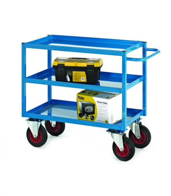 Heavy-Duty Tray Trolley - 900H (200Mm Wheels)