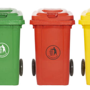 Wheeled Bins - 80 Litres - Yellow