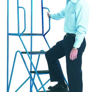 Fort® Easy Glide Steps - 4 Tread with Full Handrail