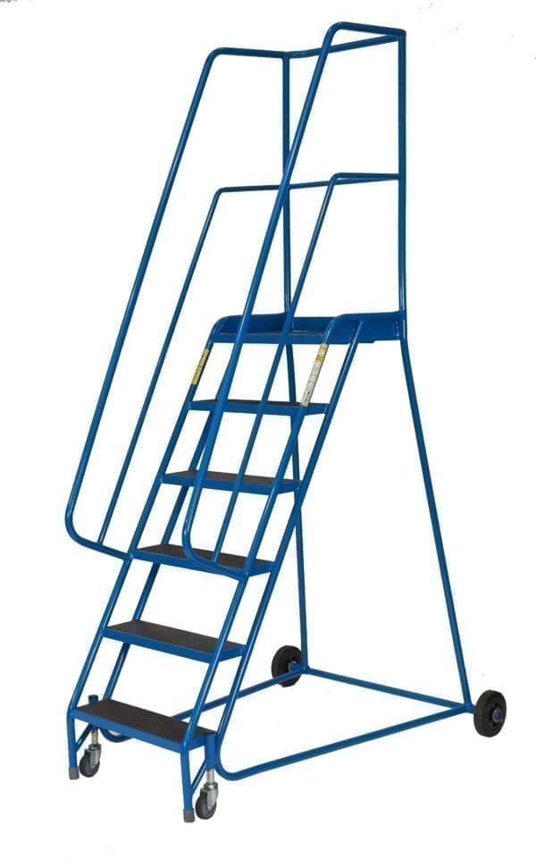 Fort® Delta Step - 6 Tread - Aluminium Treads