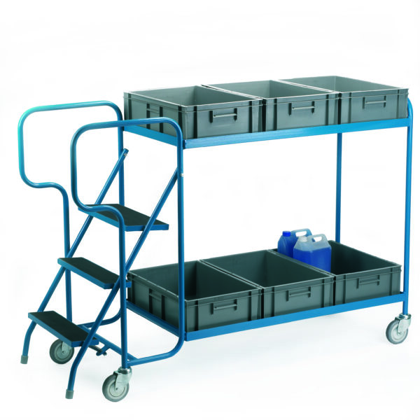 Order Picking Trolley - For 6 Containers