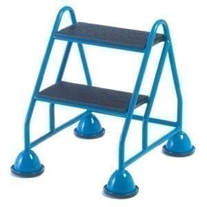 Fort® Premier Range of Mobile Domed Feet Steps - 2 Tread