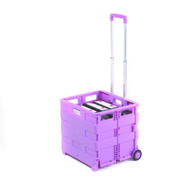 Folding Box Truck - Pink