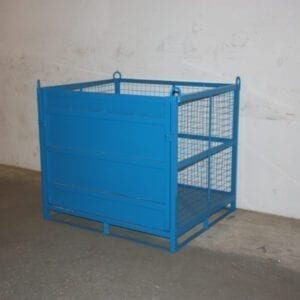 Heavy Duty Craining Cage - Craning cage with loading ramp