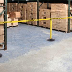 Safety  Belt Barriers - Messaged Belt