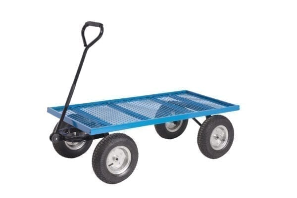 Platform Truck With Reach Compliant Wheels - Mesh Base