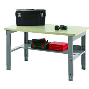 Adjustable Height Work Bench - 1520Mm